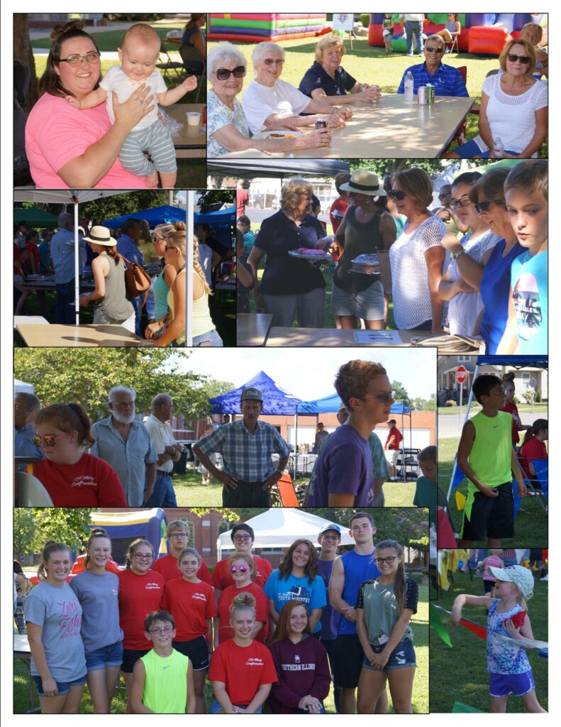 Parish Picnic Collage 2018 b